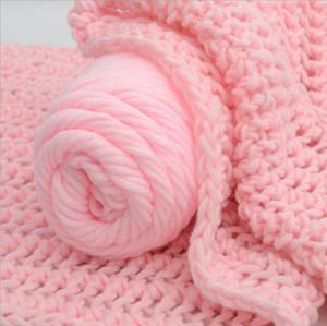 100 g / adet Yumuşak Kalın Iplik pelote de laine dökün triko Özel Toptan laine bir tricoter solde Örme Eşarp Hattı