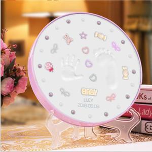 Charming Baby Handprint Footprint DIY Paket Andenken Speicher sicher Clay Great Baby Shower Geschenk
