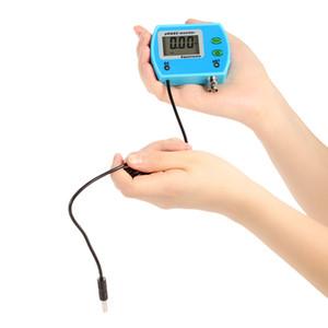 Freeshipping Ausgezeichnete 2 in 1 PH Meter Aquarium Wasserqualität Tester Multi-Parameter Wasserqualität Monitor Online pH / EC Meter Acidometer
