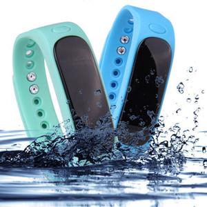 2017 de alta qualidade E02 esportes pulseira, pulseira inteligente à prova d 'água, pedômetro, monitor de saúde pedômetro, pulseira de desgaste por atacado livre de transporte