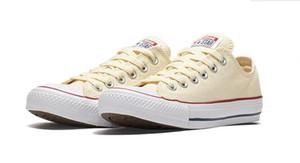 Nuevo Unisex Low-Top Adultos de mujer zapatos de lona para hombre 15 colores con cordones Zapatos casuales zapatillas de deporte retai Size35-44