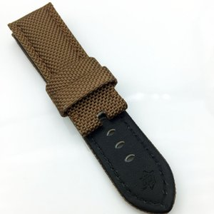 26mm PAM Strap Canvas For Fashion Good Calf Watch Leather Band Quality Luxury 125 80mm Watch Nfggw