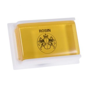New Yellow Rosin For Violin Cello Viola With Low Dust High Clear of Square
