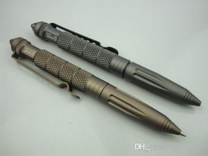 6 teile / los alaix b2 tactical pen defense pen cooyoo werkzeug luftfahrt aluminiumnti-skid tragbare werkzeug überleben stift farbe verpackung box