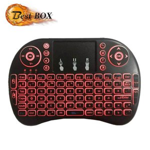 Colorful Rii I8 2.4GHz Wireless Mouse Gaming Keyboards Colorful Backlit Remote Control for S905X S912 Android TV Box M9S A95X X96 Q TV BOX