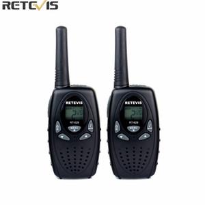 2 pcs Retevis RT628 Crianças Walkie Talkie Mini Rádio 8CH 0.5 W UHF 462-467 MHz Crianças cb Rádio Portátil Brinquedo Comunicador A1026