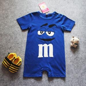 Güzel tasarım Yenidoğan Bebek çocuk Erkek Serin Giysileri bebek Kısa kollu Romper Bodysuit Tulum Kıyafet bebekler bebekler onesies ücretsiz kargo
