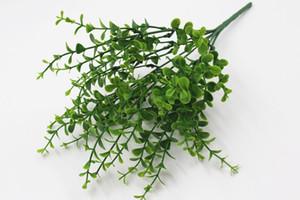 جديد الأوكالبتوس محاكاة النباتات النباتات الخضراء زهرة من البلاستيك زهرة الأوكالبتوس العشب