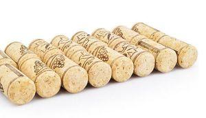 Sala da pranzo calda Bottiglia diritta Sugheri di legno Tappo di bottiglia di vino Tappi di vino Tappi di vino Tappo di bottiglia Strumenti da bar Tappo di vino Tappi di tenuta in legno