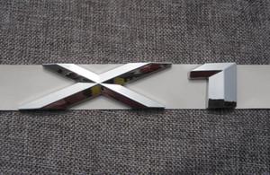 ABS cromo X 1 Letras Número Tronco Emblema trasero Etiqueta adhesiva para BMW F48 E84 X1