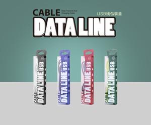 500pcs En Gros 158 * 38 * 17mm PVC Fenêtre De Luxe En Aluminium Feuille Papier Boîte / Emballage Cadeau / Micro USB Câble Emballage Boîtes