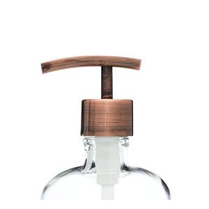 구리 현대 스테인리스 액체 비누 디스펜서 펌프 메이슨 항아리 DIY 비누 또는 로션 디스펜서 500 pics / lot