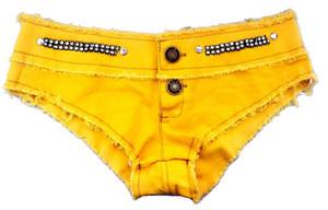 ¡Venta caliente! Meileiya Verano Sexy Pantalones Cortos de Mezclilla de Cintura Baja para Mujeres Night Club Party Femenino Chicas Encantadoras Diseño Sólido corto Jean