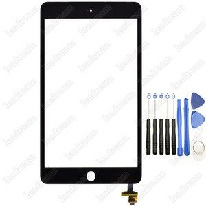 30 pcs painel de vidro da tela de toque original com digitador com conector de ic para ipad mini 3 preto e branco com ferramentas