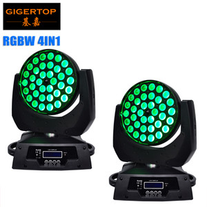 2pcs lot 36*10W RGBW 4in1 Mini LED Moving Head light wash beam Stage effect Excellent Brightness 15-60 Degree Zoom Funtion