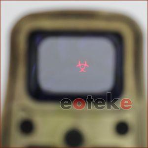 556 558 556 Resident Evil 홀로그램 적색 및 녹색 점 20mm 레일 장착 시력 소총 홀로그램 시력