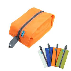 Al por mayor- 1Pc Unisex impermeable bolsa de viaje ropa bolsa de almacenamiento de bolsa de cosméticos Bolsa de maquillaje organizador