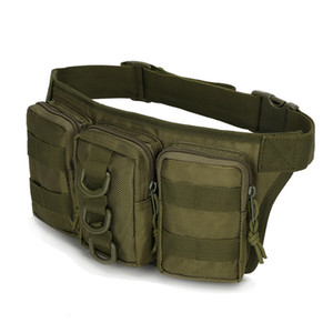 Waterproof Waist Bag Three 20ls Pockets Of Military Bags Pack Hiking Tactical Outdoor Fishing F Waist Sports Camouflage Small Portable Lond