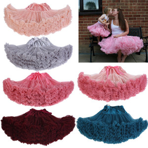 Women's Retro Dancewear Adult Tutu Skirt Fluffy Pettiskirt Princess Ballet Skirt Party Cheap Petticoat for Wedding CPA835