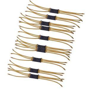 Venda al por mayor de gran alcance la venda de reemplazo de la catapulta de la catapulta Accesorios Juegos de la caza del tiro de honda Herramientas Tubos de látex de goma