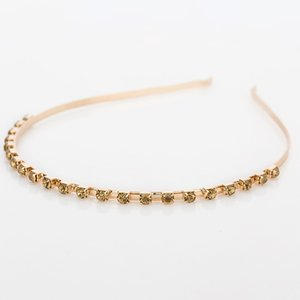 New Fashion Tiara crystal gold Hairbands Korean Summer Style Wedding Hair Accessories Bridal Alloy Trendy Jewelry H038