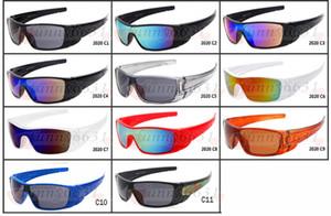 Sıcak yeni YAZ ERKEKLER spor Kamuflaj güneş gözlüğü koruyucu gözlük kadın moda Açık camo bisiklet gözlük 10 renkler ücretsiz kargo