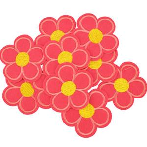 Diy цветок патчи для одежды железы вышитого патча аппликации железа на патчах швейных принадлежности бейдж наклейки на облечь мешок