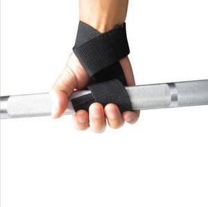 impacco di sollevamento sollevamento pesi Reverse Grip Training Gym cinghie polso dei guanti barra di supporto, Palestra cinghie Peso Body Building Grip nastro Glove Sport