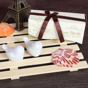 Liebesvögel Salz Pfefferstreuer Keramik Beaucoup Hochzeitsbevorzugungen Präsentieren Hochzeit Lieferungen Praktische Küche Keramikbevorzugungen Geschenke