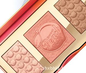 Makeup Palette Sweet Peach GLOW 3 Colore Blush Powder Blusher Marche Ombretto Face Make Up Cosmetics Kit Odore come le pesche acquisto libero