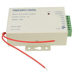 1 unids Power Supply Control Switch Sistema de Control de Acceso de Puerta DC 12V 3A / AC 110 ~ 240 V