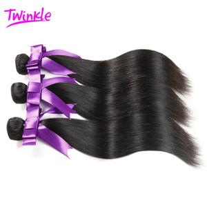 7A virgen brasileña Weave Bundles virgen brasileña recta virgen Alibarbara al por mayor virgen UK Rosa Hair Products