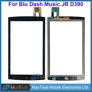 "Top Quality 4.0"" For Blu Dash Music JR D390 Touch Screen Digitizer Front Glass Panel Sensor Black White Color"