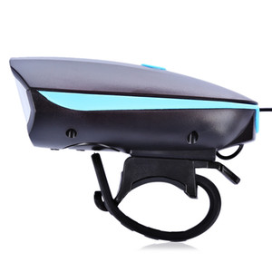 Mountain Bike Scheinwerfer mit Horn Outdoor Nacht USB Changer Hellste Fahrrad Licht Radfahren Licht Glocke Fahrrad Ausrüstung