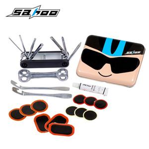 SAHOO Mountainbike Fahrrad Reifenpannen Reparatur Kit Tool Set Kit Tragbare Box Fahrradzubehör mit Cartoon Version