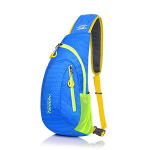 2017 Yeni kadın ve erkekler açık spor çanta kol göğüs çanta casual göz kamaştırıcı renk koşu yürüyüş sürme telefonu çanta