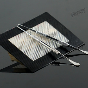 Antiadherente de silicona almohadillas de cera seca esteras de hierba seca 14 cm * 11.5 cm o 11 cm * 8.5 cm hojas dabber concentrado dabbing accesorio