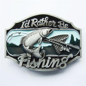 Männer Gürtelschnalle New Vintage eher Angeln Fisch Gürtelschnalle Gürtelschnalle Boucle de ceinture BUCKLE-WT054 Nagelneu