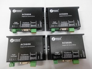 Unidade servo sem escova do servoDC da CA de Leadshine ACS606 Digitas