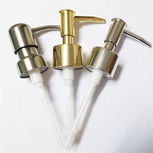 Lavado a mano Botella Prensa dispensador Bomba Plástico Boquilla de jabón líquido Accesorios de baño Adecuado para diámetro 2.5 CM 1 58xy CW