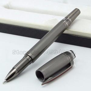 superfici spazzolate lusso raro placcatura resina penna a sfera roller e accessori di design mb PVD scrittura marca doni penna a sfera