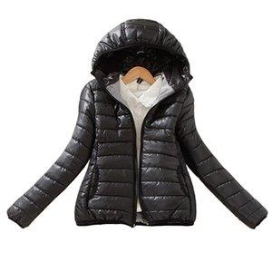 8-color yükseltme sürümü 2017 süper sıcak kış parka ceket kaban bayanlar kadın ceket İnce Kısa yastıklı kadınlar