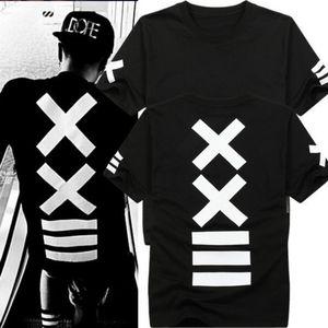Hommes t-shirts mode hba Hip Hop t-shirt Hommes métallica rock t-shirt bandana t-shirt Imprimer Graphic swag T-shirt pour les hommes