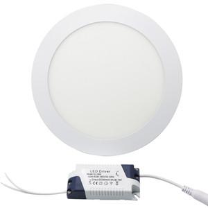 Edison2011 Eficiente 15 W Rodada Levou Luz de Painel SMD 2835 Alta Super Brilhante Branco Quente / Branco Fresco Celling Luz AC85V-265 V Não-Regulável