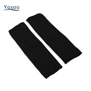 Wholesale- 2 Pcs/Pair Steel Wire Cut Proof Anti Abrasion Stab Resistant Armband Sleeve Guard Bracers Safty Arm Guard Bracers Protector
