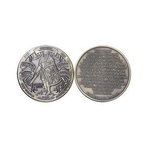 100PCS Armatura di Dio Difendi la Fiducia Sfida Moneta da Esercito degli Stati Uniti Souvenir Monete da collezione