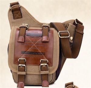 Canvas Bags Messenger Handbag Men Aslant Package Men's Single Shoulder Bag Teenager Aslant Bag Messenger Bags Anime Totoro Chest