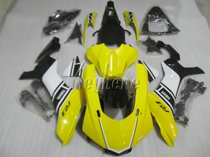 Carene per stampaggio ad iniezione per Yamaha YZF R1 09 10 11 12 13 14 carenatura moto nero giallo YZFR1 2009-2014 OR23