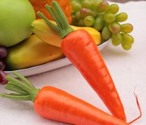Моделирование овощей, моркови, моркови, поддельные овощи модели, детские осветительные кухонные украшения