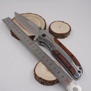 Browning DA43 Couteau Pliant 3Cr13 Lame En Palissandre Poignée Miroir Couteaux Tactiques Poche Outil De Camping Rapide Ouvrir Couteau De Survie De Chasse